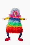 Фьека Разноцветный женский карнавальный костюм / BL - ВМ263, фото 5