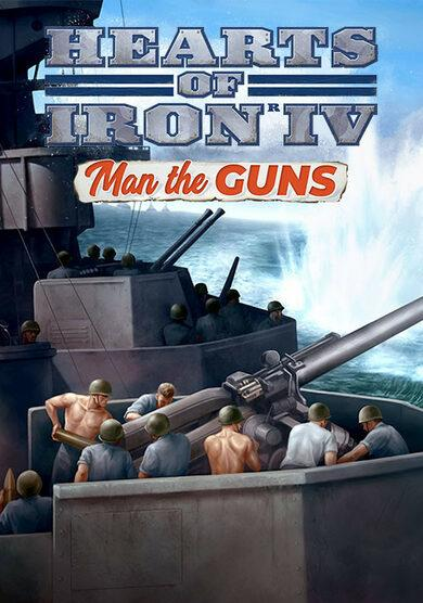 Hearts of Iron 4: Man the Guns DLC (PC) Электронный ключ