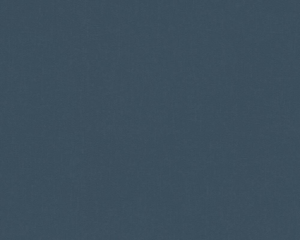 Однотонні темно сині шпалери i-364254, гаряче тиснення вінілу на флізеліновій основі, миються і зносостійкі