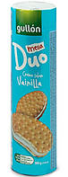 Печенье сэндвич Duo Mega Vanilla с ванильным кремом Gullon Испания 500 г