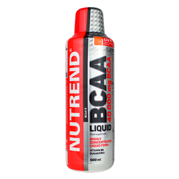 Аминокислоты БЦАА Nutrend Bcaa Liquid 500ml апельсин