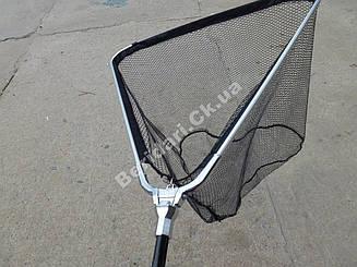 Подсак складной телескопический(капрон  покрытый латексом)   63*60*250 см