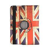 Чехол ретро UK флаг для Samsung Galaxy Tab 4 10.1
