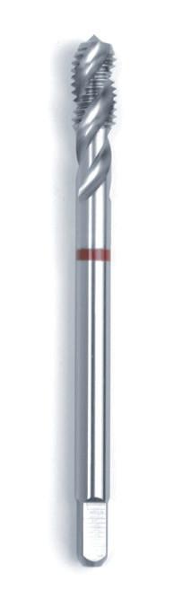 Машинний мітчик DIN 376 (2184-1) 6H HSSE-V3 Form C/ RSP 40° червоне кільце M 20  GSR Німеччина