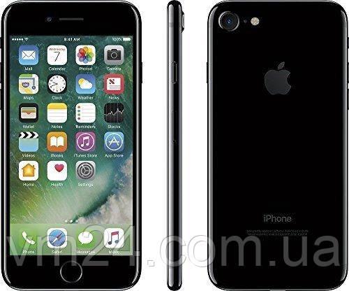 Мобильный телефон Apple iPhone 7 128GB Jet Black  б.у (A) Jet Black, MN9M2LL/A