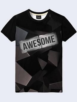 Мужская футболка Awesome