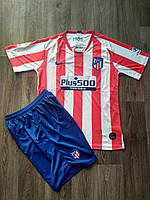 Футбольная форма Атлетико Мадрид/Atlético de Madrid ( Испания, Примера ), домашняя, сезон 2019-2020, фото 1