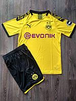 Детская футбольная форма Боруссия Дортмунд/Borussia Dortmund(Германия, Бундеслига ), домашняя, сезон 2019-2020, фото 1