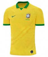 Детская футбольная форма сборной Бразилии/Brasil, домашняя, сезон 2019, фото 1