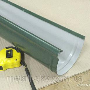 Желоб водосточный металлический 125 (Ruukki)
