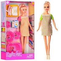 Игровой набор с беременной куклой / Кукла Defa Lucy 8350 беременная