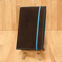 Кожаная обложка на паспорт Орех - Тиффани