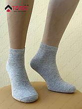 Носки мужские Taso 102 хлопковые средней длины, цвет Серый, размер 29