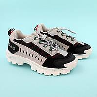 Кроссовки для мальчика Серые тм Bi&Ki размер 28,29,30,32,33,34,35