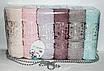 Метровые турецкие полотенца Fllowers Vip Cotton, фото 3