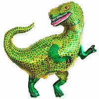 """Мини-Шар фольгированный фигурный """"Динозавр Тиранозавр"""" Flexmetal"""