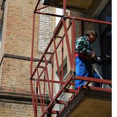 Пристрій балконів, лоджій