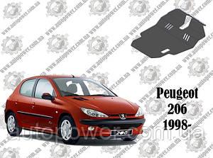 Защита PEUGEOT 206 2006-