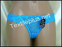Трусики стринги Coeur joie голубой 8629
