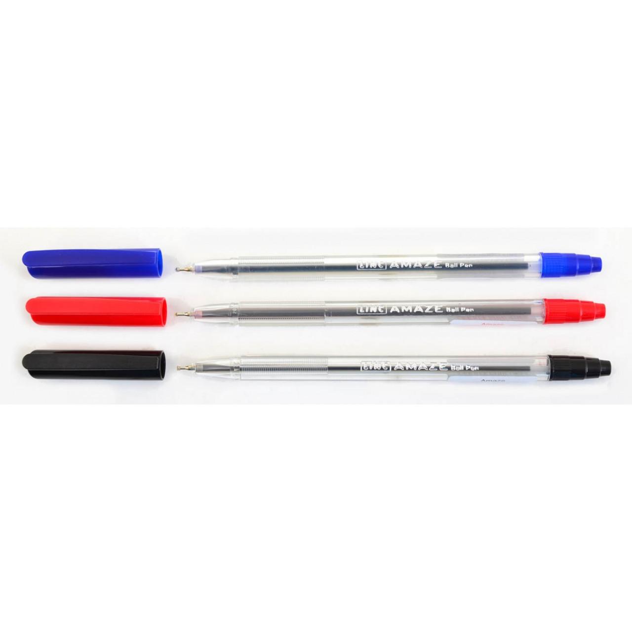 """Ручка  шариковая/масляная """"Amaze"""" синяя 0,7 мм """"LINC"""""""