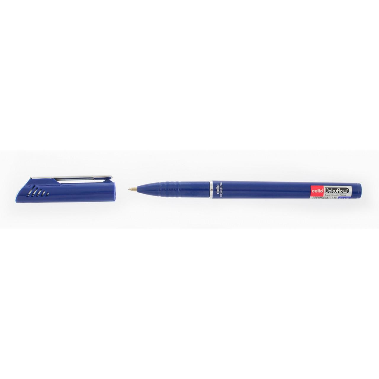 """Ручка  шариковая/масляная """"Dokuflow"""" синяя 0,7 мм """"CELLO"""""""