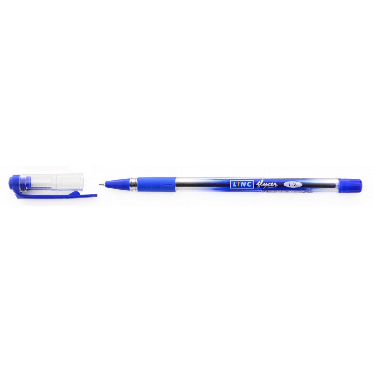 "Ручка  шариковая/масляная ""Glycer"" синяя 0,7 мм ""LINC"""