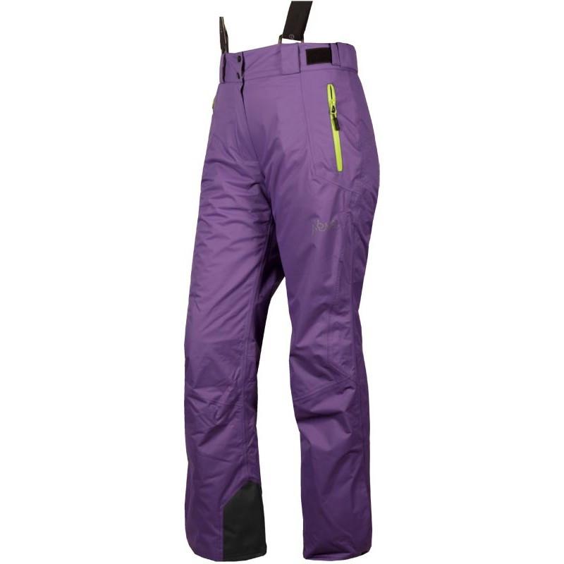 Женские горнолыжные брюки мембранные NEVE FOLIE сиреневые