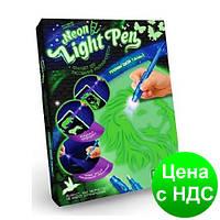 Набор рисуй светом А4 Neon Light Pen ТМ Danko Toys