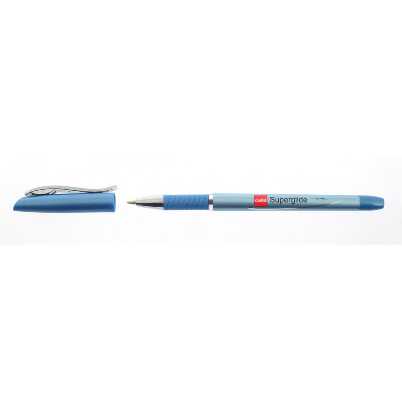 "Ручка  шариковая/масляная ""Superglide"" синяя 1 мм ""CELLO"""