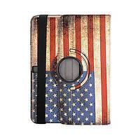 Чехол ретро USA флаг для Samsung Galaxy Tab 4 10.1
