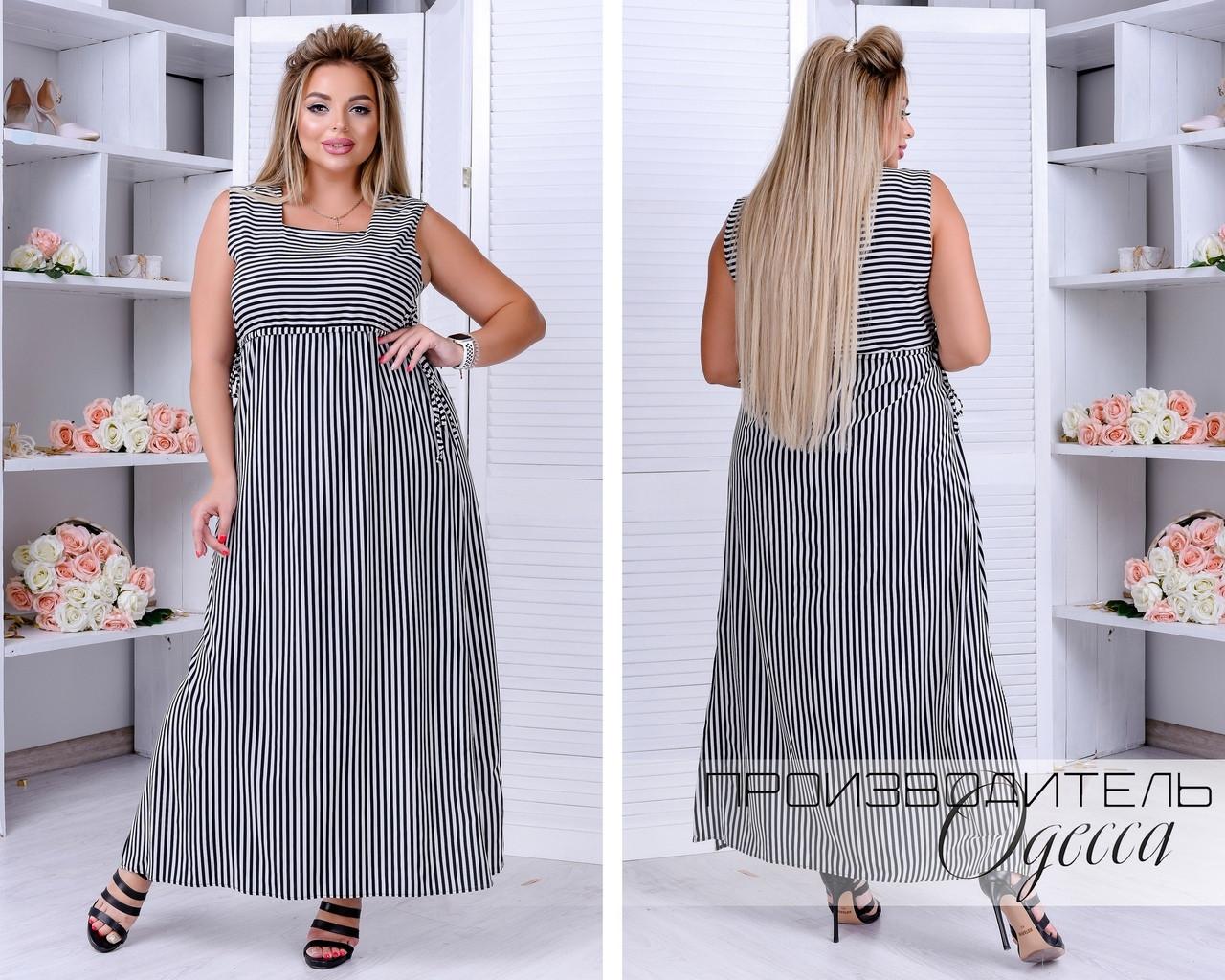 Женское платье батал Вольна