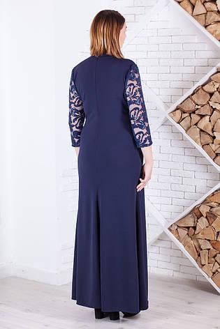 Вечірнє плаття довге велике з паєтками, фото 2