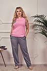 Костюм женский для дома,для сна,  штанишки и  футболочка,3 вида, размеры 42/44 46/48 , код 0184