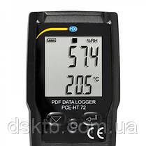 Регистратор температуры и влажности PCE-HT 72 (Германия), фото 2