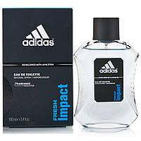 Мужская туалетная вода Fresh Impact Adidas (страстный, манящий, дерзкий аромат), фото 1