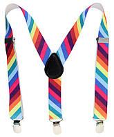 Подтяжки детские TRAUM 8530-07 из эластичного пояса разные цвета