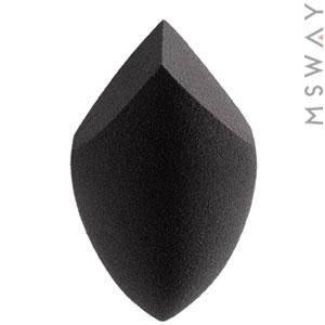 KATTI Спонж COLORseries LCut Black большое яйцо два-среза черный упругий  1шт, фото 2