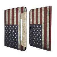 "Чехол-книжка ""Retro USA Flag"" для Samsung Galaxy Tab 4 10.1 , фото 1"