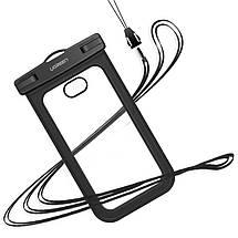 Защитный водонепроницаемый чехол Ugreen для телефона и документов (Черный), фото 2