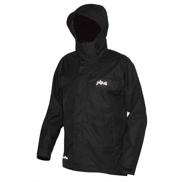Мембранная штормовая куртка NEVE PIKE черная