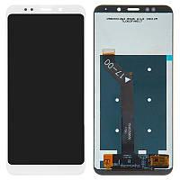 Дисплей (модуль) на Xiaomi Redmi 5 Plus + сенсор белый original