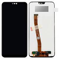 Дисплей (модуль) на Huawei P20 Lite + сенсор черный