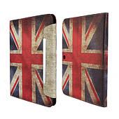 "Чехол-книжка ""Retro UK Flag"" для Samsung Galaxy Tab 4 10.1"
