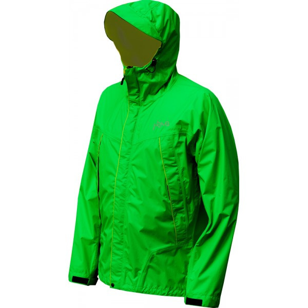 Мембранная штормовая куртка NEVE SPIRIT салатовая