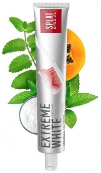 """Зубная паста SPLAT """"Extreme White"""" (75мл.)"""
