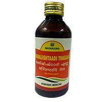 Манжіштхаді Таіл Нагарджуна 200 мл., Manjishtadi Thailam Nagarjuna Herbal Concentrates Ltd, Манжиштхади Таил,