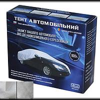 Тент автомобильный 432 х 165 х 120 см, полиэстер, серый Vitol F 170T/F 14062 M