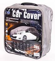 Тент автомобильный 381 х 165 х 119 см, Peva+non Woven, серый Vitol HC13403 L