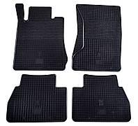 Резиновые ковры Stingray MERCEDES BENZ W210 E 95- (design 2016) - 4м.