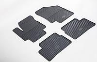 Резиновые ковры Stingray HYUNDAI Accent 10-/KIA RIO III 11 - 4м.